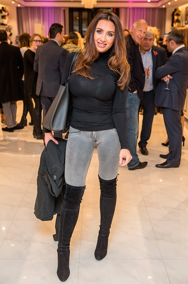 Boux Avenue Launch Party, London, Britain - 04 Nov 2015 Lauren Goodger