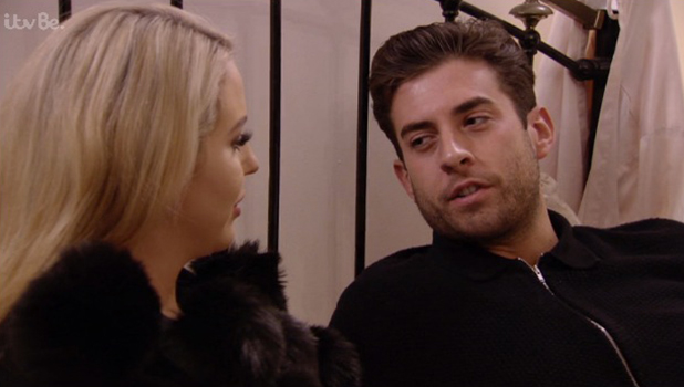 TOWIE: James Argent and Lydia talk about the future 4 Nov 2015