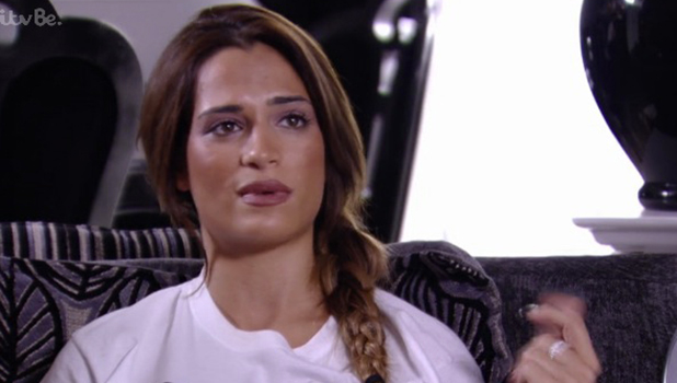 TOWIE: Lewis and Nicole row on 4 Nov 2015