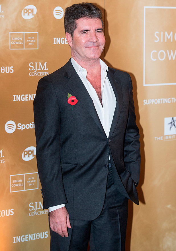 Music Industry Trusts Award in aid of Nordoff Robbins and the BRIT Trust held at the Grosvenor House. Simon Cowell