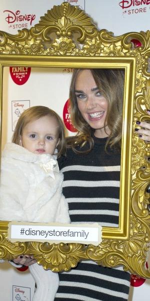 Disney Store Christmas Party, Oxford Street Tamara Ecclestone, 3 Nov 2015