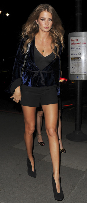 Millie Mackintosh attends the Tunnel of Love Fundraiser party in London, 12th November 2015