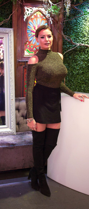 TOWIE's Jess Wright attends the Ann Summers SS16 launch party in London, 13th November 2015