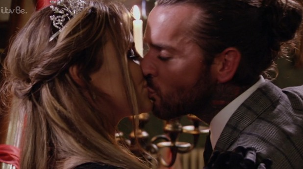 TOWIE series 16 finale: Jessica Wright and Pete Wicks sort out their differences and kiss. 11 November 2015.