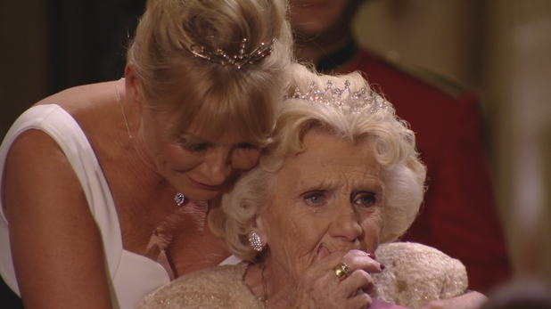 TOWIE's Nanny Pat in tears after Jess Wright song on her 80th birthday. Episode airs: 11 November 2015.