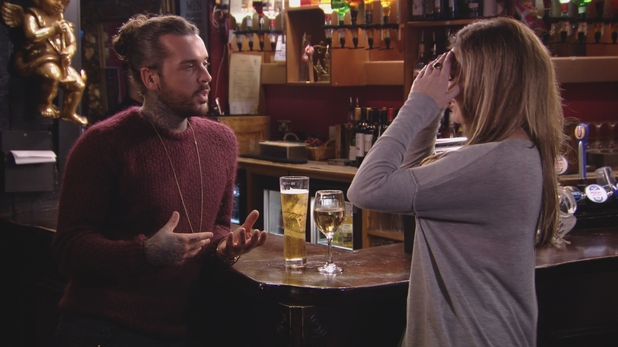TOWIE series finale: Jess speaks to Pete Wicks about the Lewis Bloor kiss. Airs: Wednesday 11 November 2015.