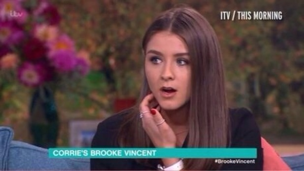 Brooke Vincent Blog: Brooke appears on This Morning 10 November