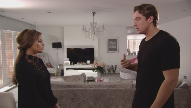 TOWIE series finale: Lewis visits Jess to speak about their kiss. Airs: Wednesday 11 November 2015.