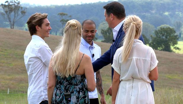 Tony Hadley meets his team Jorgie Porter, Lady Colin Campbell, George Shelley And Kieron Dyer on I'm a Celebrity... Get Me Out Of Here! - 14 Nov 2015