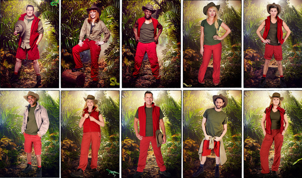 I'm A Celebrity...Get Me Out Of Here! 2015 - confirmed campmates