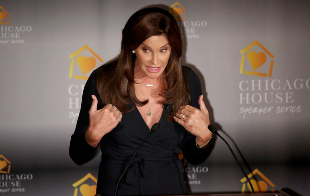 Caitlyn Jenner talks about her life at House fundraiser, Chicago, America - 12 Nov 2015