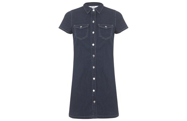 Miss Selfridge Denim Shirt Dress £39, 11th November 2015