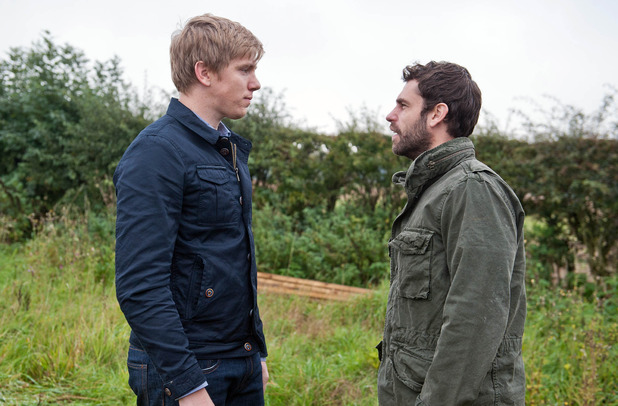 Emmerdale, Robert confronts Andy, Wed 11 Nov