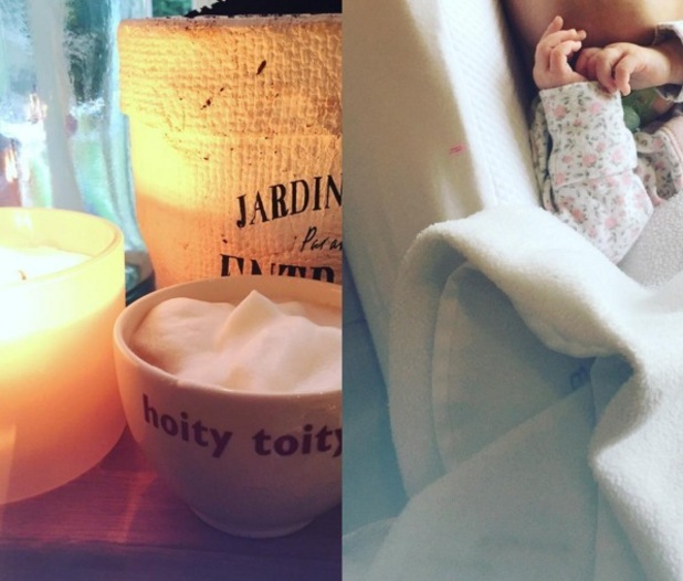 Fearne Cotton shares photo of daughter Honey to Instagram 9 November