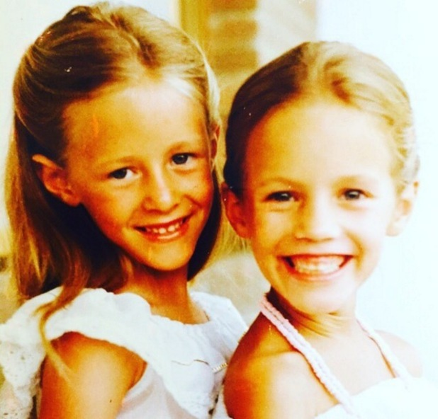 Caroline Flack shares throwback photo with twin sister on their birthday 9 November