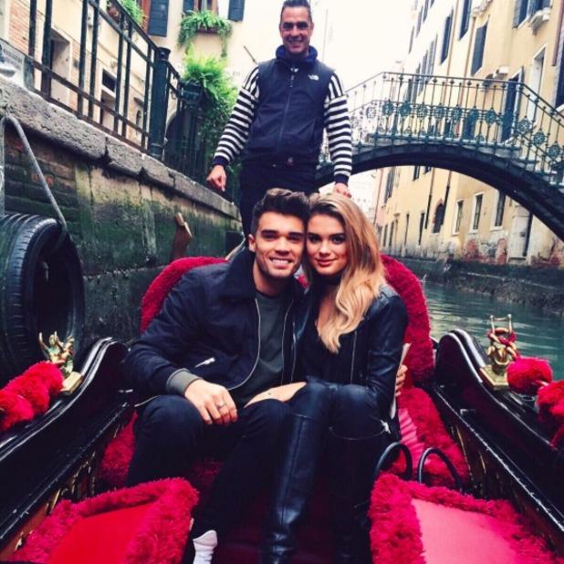 Union J's Josh Cuthbert announces engagement to Chloe Lloyd, 14 November 2015.