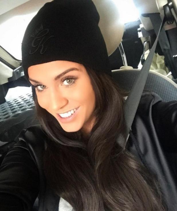 Vicky Pattison selfie on Instagram 5 November