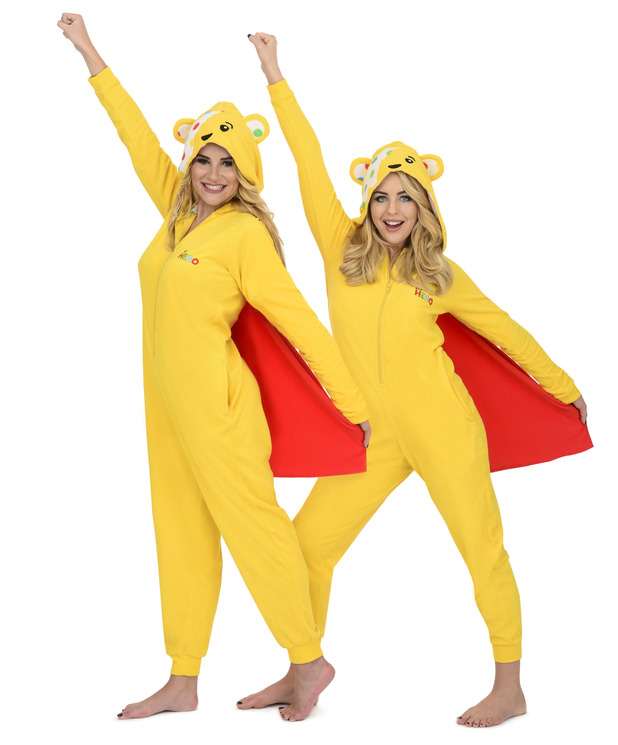 TOWIE's Georgia Kousoulou and Lydia Bright support BBC Children In Need with Asda's official range, November 2015