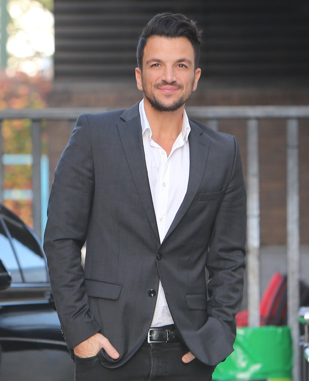 Peter Andre outside ITV Studios - 12 November 2015.