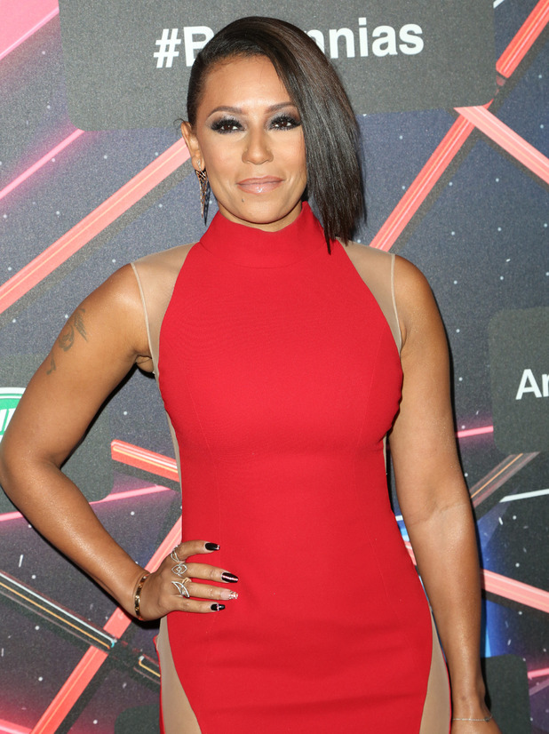 Mel B at the 2015 Jaguar Land Rover British Academy Britannia Awards Presented by American Airlines. 30 October 2015.
