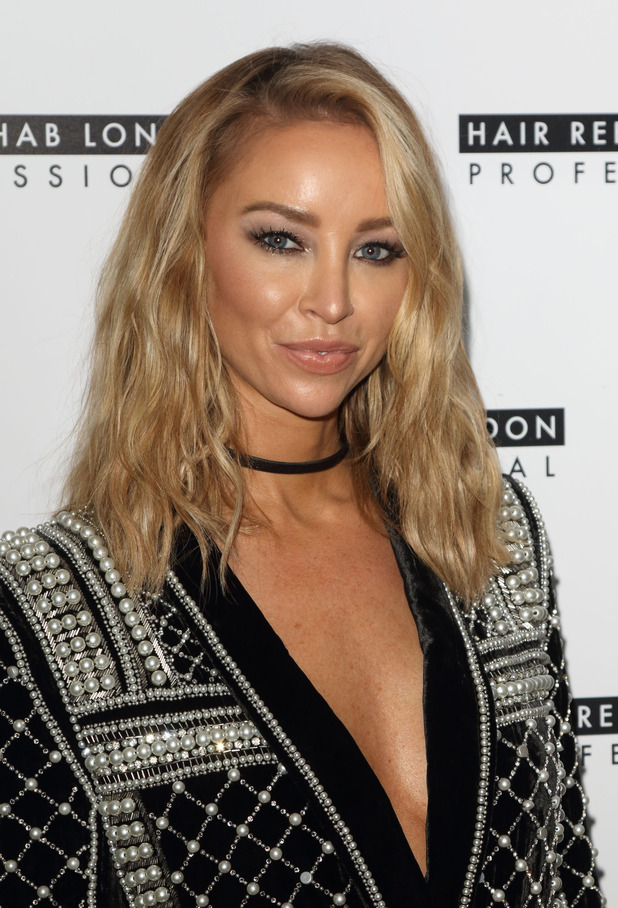 Lauren Pope LAUNCHES HER Academy for Hair Rehab London at the Sanctum Soho Hotel, London - 12th November 2015