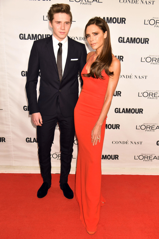 Victoria Beckham at the Glamour Woman of the Year Awards, Show, New York, America - 09 Nov 2015