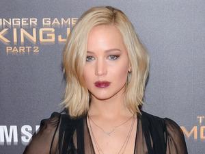 Jennifer Lawrence attends the Mockingjay Part 2 screening in New York, 19th November 2015