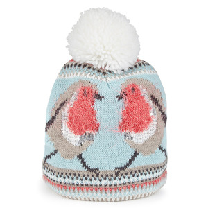 Marks and Spencer robin red breast bobble hat £15, 19th November 2015