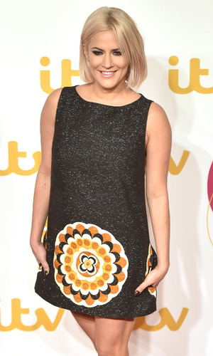 Caroline Flack attends the ITV Gala, London 19 November