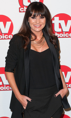 Lucy Pargeter at the TV Choice Awards held at the London Hilton Park Lane - 8 September 2014.