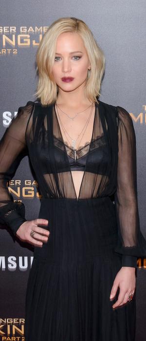 Jennifer Lawrence at the Mockingjay Pt.2 Screening in New York City, 19th November 2015