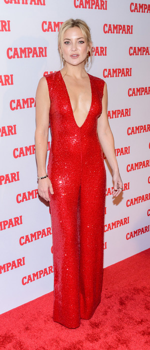 Kate Hudson attends the Campari Calendar Launch party in New York, 19th November 2015
