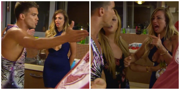 Holly Hagan, Gary Beadle and Kyle Christie have an explosive row on Geordie Shore, Season 11 Episode 5 - November 2015