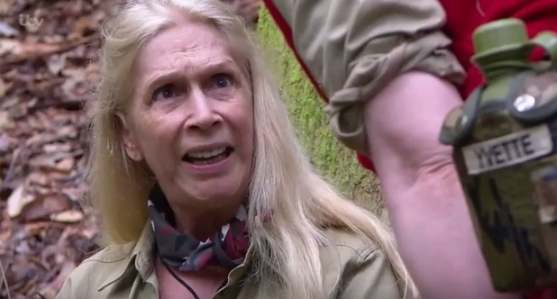 'I'm a Celebrity, Get Me Out Of Here!' TV Programme, Australia - 16 Nov 2015 Lady Colin Campbell fumes at having to take part in a task.