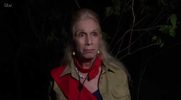 Lady Colin Campbell on 'I'm a Celebrity... Get Me Out of Here! 15 November 2015.