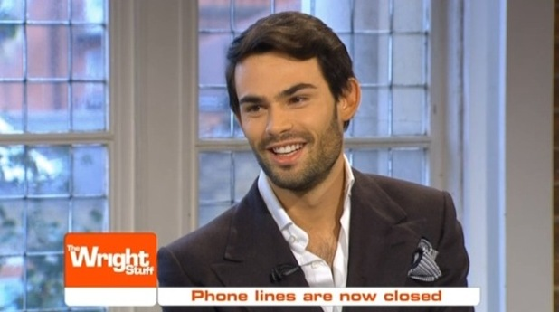 Mark-Francis reacts to the news that Spencer Matthews is going into the jungle on The Wright Stuff. 16 November 2015.