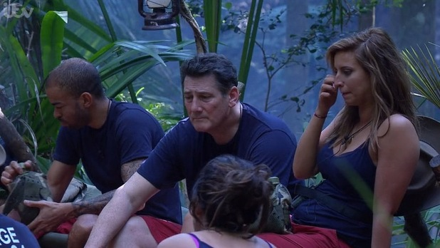 Tony Hadley I'm A Celebrity...Get Me Out Of Here!  - 19 November 2015.