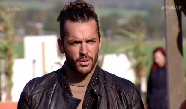 Pete Wicks on The Only Way Is Essex - 2 November 2015.