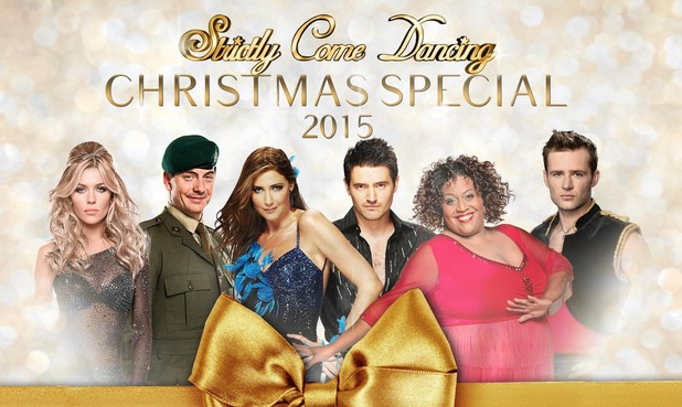 Strictly Come Dancing Christmas Special 2015 line-up. 19 November 2015.