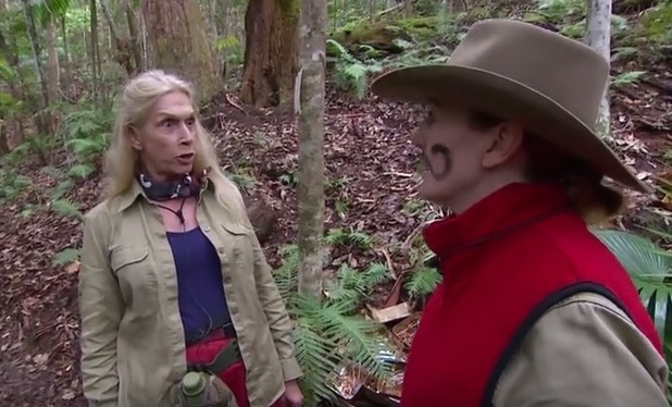'I'm a Celebrity, Get Me Out Of Here!' TV Programme, Australia - 16 Nov 2015 Lady Colin Campbell and Yvette Fielding take part in a task.