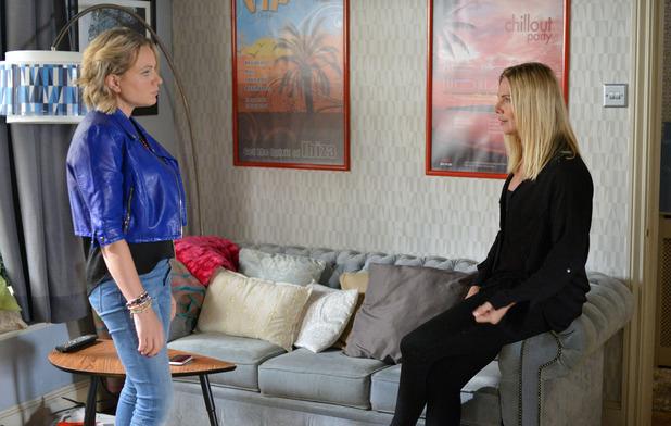 EastEnders, Roxy confronts Ronnie, Fri 20 Nov