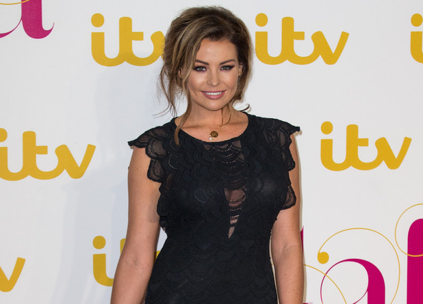Jessica Wright at the ITV gala 19 November