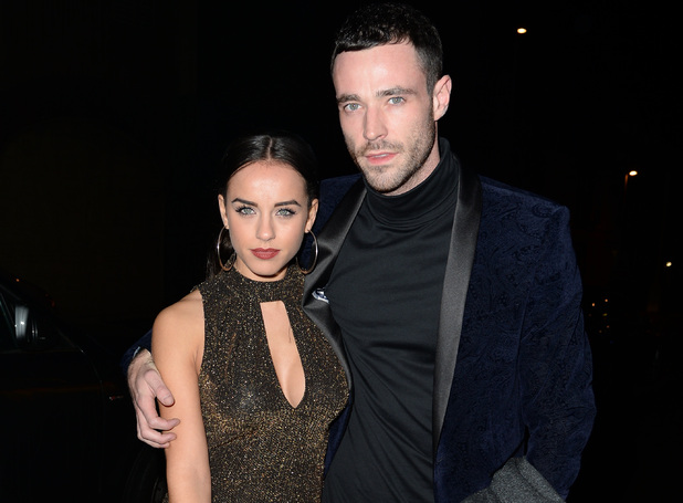 Georgia May Foote and Sean Ward attend the Strictly Come Dancing afterparty at Blackpool, 21 November 2015.