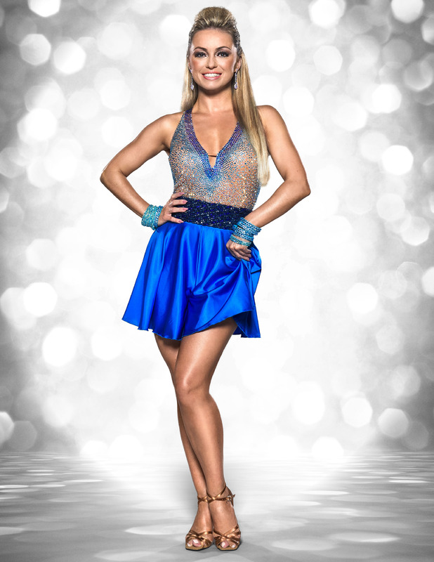 Ola Jordan takes part in Strictly Come Dancing 2015.
