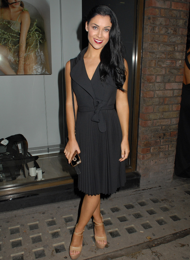 Cally Jane Beech attends Sugababes Launch Party at Alon Zakaim, London 18 November
