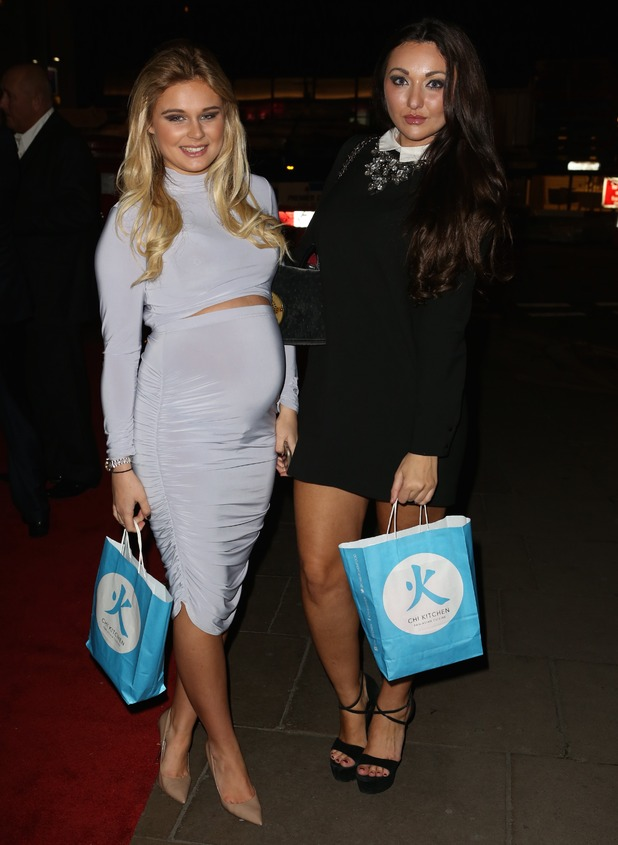 Life On Marbs stars Alex Weaver and Jordan Sargent attend Chi Kitchen Launch Party - 18 November 2015.