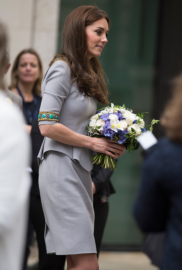 The Duchess of Cambridge attends Place2Be's Headteacher Conference at the Bank of America Merrill Lynch Offices.