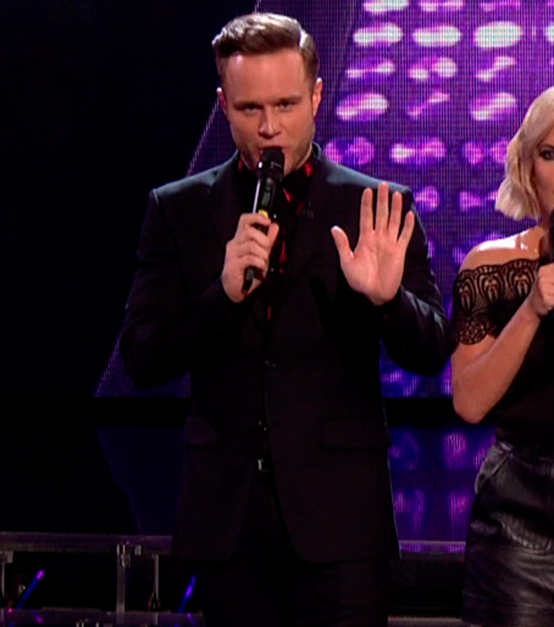 X Factor Results: Olly Murs slips up when announcing Monica Michael elimination 2015
