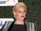 Ashley Roberts looks sharp in Balmain & unveils new 'do!