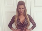Exact match! TOWIE's Georgia Kousoulou is party ready in lace frock
